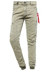 Alpha Industries Octane Cargo Trousers Olive