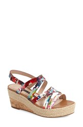 Women's French Connection 'Liya' Platform Wedge Strappy Sandal 2 3 4' Heel