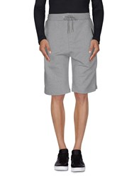 Alexander Mcqueen Trousers Bermuda Shorts Men Grey