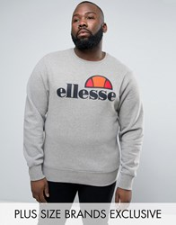 Ellesse Plus Sweatshirt With Classic Logo Grey