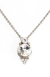 Sorrelli Women's Radiant Crystal Pendant Necklace Clear