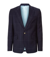 Vivienne Westwood Window Check Suit Jacket Male