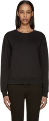 Earnest Sewn Black Abby Sweatshirt