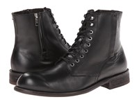 Fitzwell Urbano Black Leather Men's Lace Up Boots