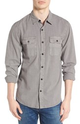 Lucky Brand Men's Washed Woven Shirt