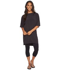 Lucy Wonder Away Tunic Black Women's Blouse