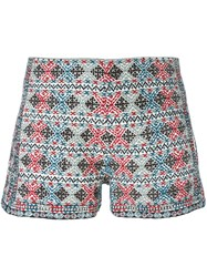 Talitha Embroidered Shorts Multicolour