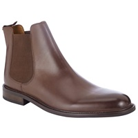 John Lewis Taylor Leather Chelsea Boots Brown