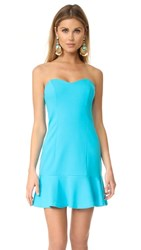 Amanda Uprichard Rocky Dress Turquoise