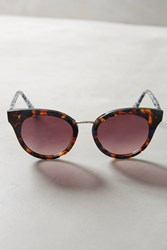 Anthropologie Ett Twa Fana Sunglasses Honey