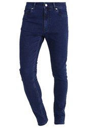 Kiomi Slim Fit Jeans Indigo Dark Blue Denim