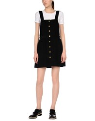 Goldie London Overall Skirts Black
