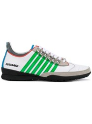 Dsquared2 Striped 251 Sneakers White