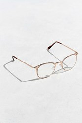 Urban Outfitters Round Metal Frame Readers Bronze