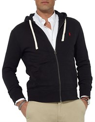 Polo Ralph Lauren Full Zip Fleece Hoodie Polo Black
