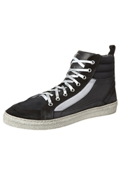 Cinti Hightop Trainers Nero Peru Savage Black