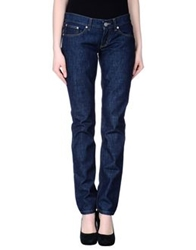 Bikkembergs Denim Pants Blue