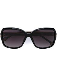 Carolina Herrera Oversized Sunglasses Black