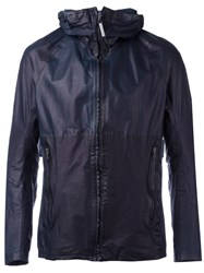 Isaac Sellam Experience Lightweight Jacket Men Calf Leather L Blue