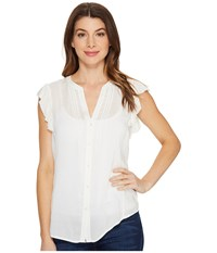 Paige Sarita Top White Women's Clothing
