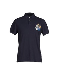 Blomor Topwear Polo Shirts Men Dark Blue