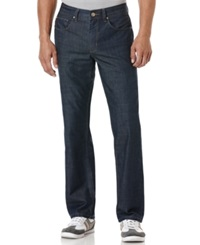 Perry Ellis Raw Dark Lightweight Jeans