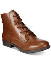 Style And Co. Qwinn Casual Lace Up Booties Only At Macy's Women's Shoes