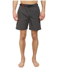 The North Face Class V Belted Trunk Graphite Grey Men's Shorts Gray