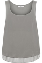 Bailey 44 Martini Silk Chiffon Tank Gray