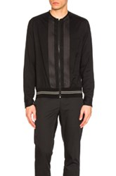 Lanvin Zip Blouse In Black