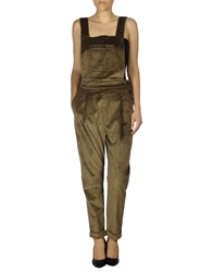 People Pant Overalls Khaki
