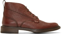 Rag And Bone Oxblood Leather Spencer Boots