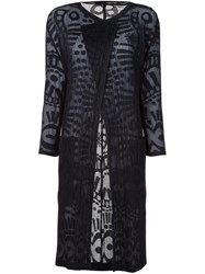 Pleats Please By Issey Miyake 'Wind Lace' Cardigan Black