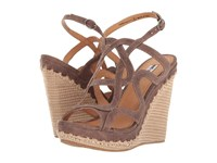 Not Rated Anatolia Taupe Women's Wedge Shoes