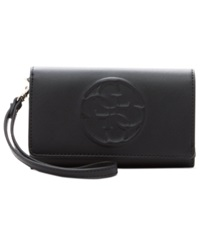 Guess Korry Phone Organizer Wallet Black