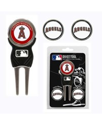 Team Golf Los Angeles Angels Of Anaheim Divot Tool And Markers Set Team Color