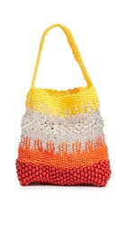 Truss Beaded Party Bag Red Yellow