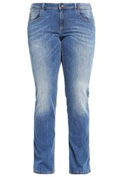 United Colors Of Benetton Bootcut Jeans Mid Blue Blue Denim