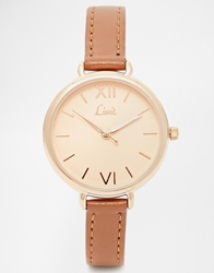 Limit Midi Face Watch Tan