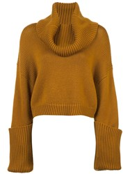 Monse Turtleneck Cropped Jumper Unavailable
