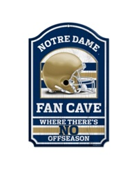 Wincraft Notre Dame Fighting Irish Wood Sign