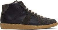 Maison Martin Margiela Black Replica Sneakers