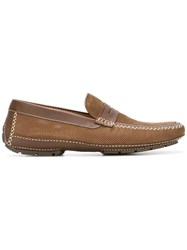Moreschi 'Bahamas' Loafers Brown