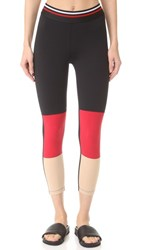 Splits59 Racer Capri Black Red Khaki