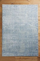 Anthropologie Derya Rug Light Denim