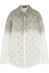 Burberry Dip Dyed Lace Shirt