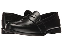 Nunn Bush Noah Beef Roll Penny Slip On Black Men's Slip On Dress Shoes