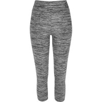 River Island Womens Grey Marl Capri Leggings