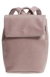Matt And Nat Mini Fabi Faux Leather Backpack Pink Orchid