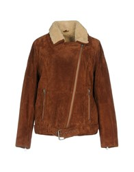 Freaky Nation Jackets Brown